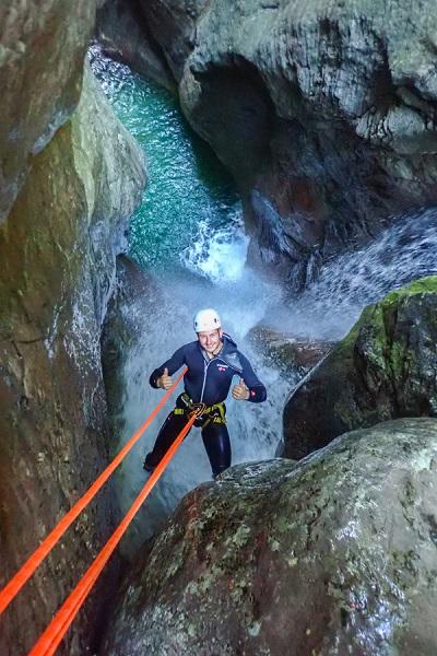 Canyoning in Kozjak