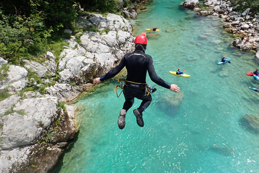 Canyoning in Kozjak